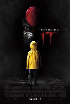 Stephen King's IT (2017) Original Movie Poster – Pennywise Advance Style