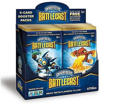 Skylanders Battlecast Booster Master Box (36 Booster Packs) - Android and iOS
