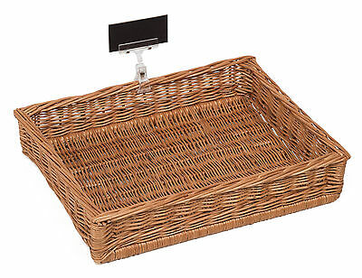 Display Basket 40x30Cm with price holder and chalkboard