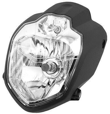 MT-03 Style Motorcycle H4 Headlight E-Marked Custom Streetfighter Cafe Racer NEW