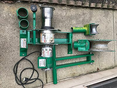 Greenlee 6800 Ultra Tugger Cable Puller with Floor Mount - 8000 lb. In Box Used
