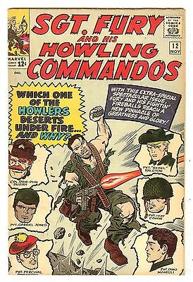 Sgt. Fury And His Howling Commandos 12