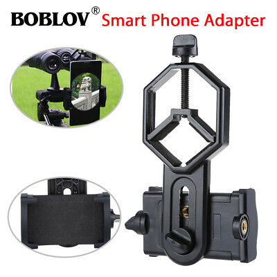 US Spotting Scope Microscope Mount Holder for Mobile Phone Camera Adapter C06
