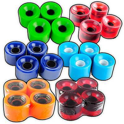Longboard Cruiser Wheels For Street Skateboard 70mm 82A Pavoz