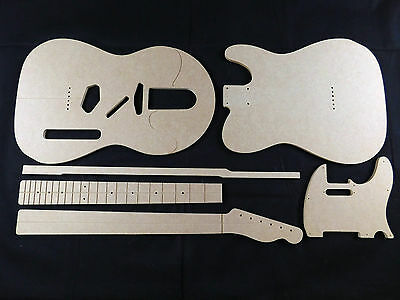 Guitar Template set Telecaster cnc made 100% accurate templates .