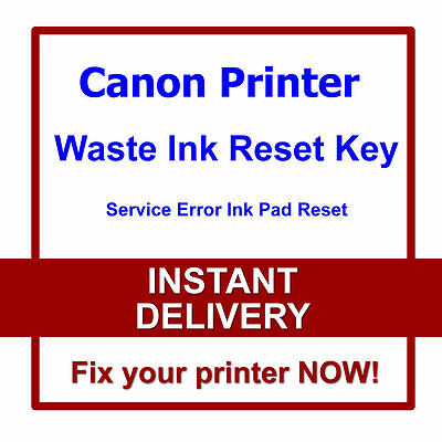 Canon G3000, G3100, G3400, G3900 Waste Ink Counters Reset 5B00 error fix Service