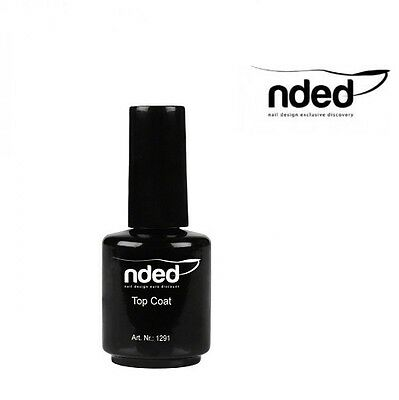 Top Coat Ultra Brillant Glossy Nded 15 Ml Vernis Finitions Des Ongles Nail Art