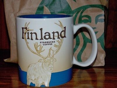 Finland - Starbucks Global Icons Coffee Mug - NEW