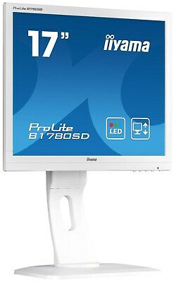 iiyama ProLite B1780SD 17 inch LED Monitor - 1280 x 1024, 5ms, Speakers, DVI