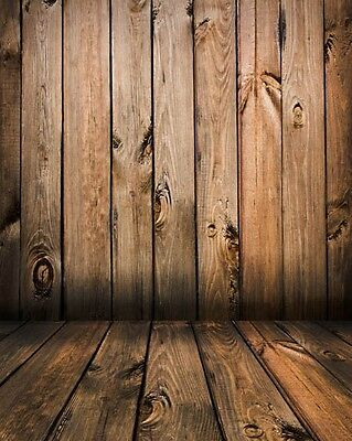 Photography Backdrop - Wooden Wall - Vintage Retro