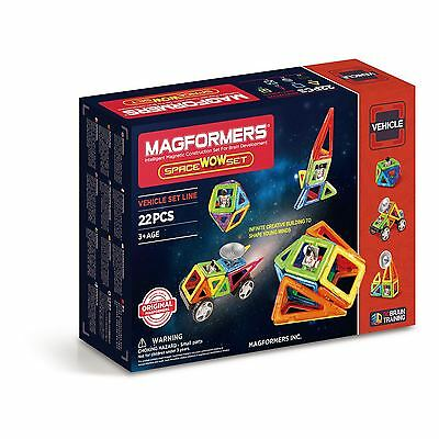 Magformers Space WOW Set 22 - GENUINE AUS STOCK