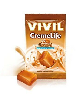 Vivil Sugar Free Sweets Caramel & Cream, No Sugar Added, Diabetic, Low Carb