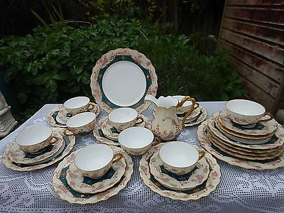 Antique L.R.L Limoges ,France tea service