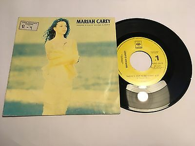 "Mariah Carey - There's Got To Be A Way - 7"" Vinyl From Spain - PROMO EX+ EX+"