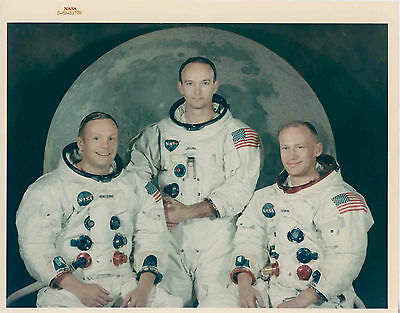 NASA. Collection of 32 vintage photographs from the Apollo 11 Mission, 1969