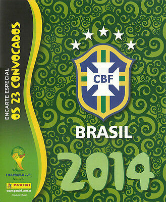 Panini Wc Wm 2014 Update Sheet Extra Stickers Brazil Very Rare