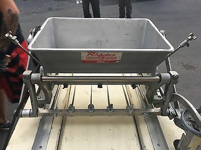 Rhodes Kook-E-King Cookie Depositor Bakery Equipment Depositor