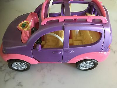 Fisher price Loving Family Purple SUV Car Sounds and Seatbelts