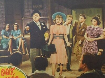 Original Vintage Theater Movie Lobby Card Give Out Sister '42 The Andrew Sisters