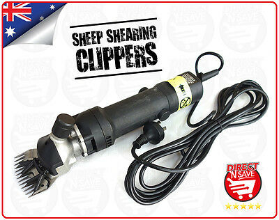 Sheep Shearing Clippers Shear Goats Alpaca Farm Shears Kit 320W Electric Shaver