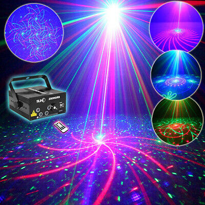 SUNY LED Stage RG Laser Lighting DJ show Light 5Lens 80 Patterns Projector Light
