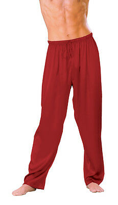 Red Jama Pants by Escante