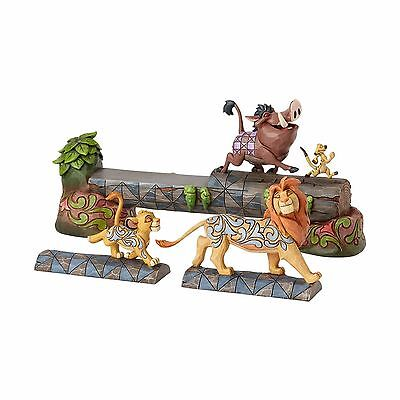 Enesco E7 Disney Traditions Jim Shore 7″ Lion King Simba Timon & Pumbaa 4057955