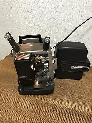 Bell & Howell Model 364 Movie Projector Super 8mm In Case