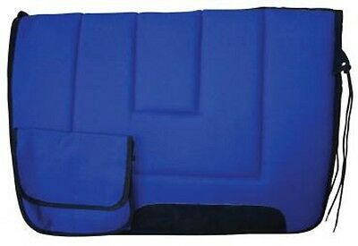 Pioneer Wool Saddle Cloth With Pockets - Stock Saddle