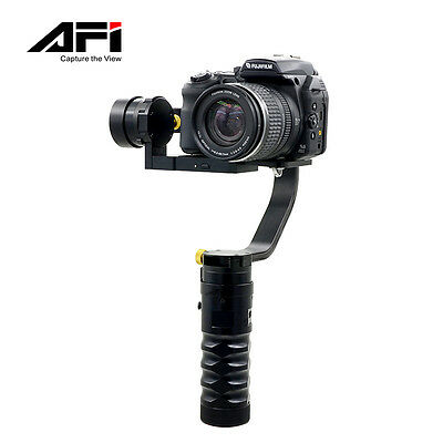 US AFI VS-3SD Handheld 3-Axis Brushless Steady Gimbal Stabilizer for Canon J7D9