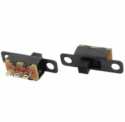 2 Position ON/ON SPDT Panel Mini Vertical Slide Switch #S72