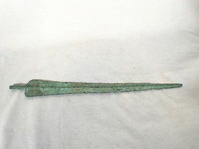 Real Rare Ancient Near East Bronze Dagger 2nd Millennium BCE