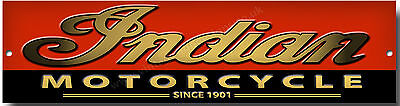 Indian Motorcycle Since 1901 Metal Sign.american Classic Motorcycles Metal Sign