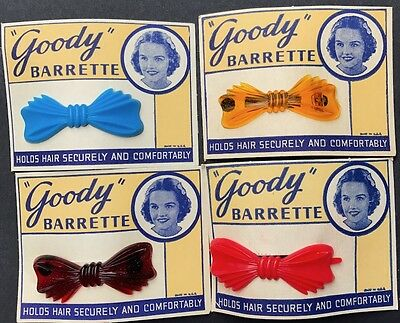 "Sweet Little 1950s ""Goody"" BARRETTE Hair Clip - Choice of 4 Colours"