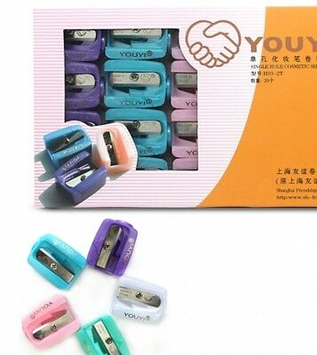 Brand New Cosmetic Pencil Sharpener. Eyebrow Pencil Lip Liner Different Colours