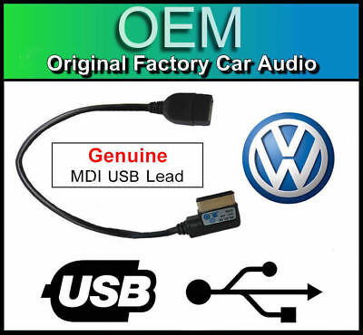 VW MDI USB lead, VW Golf MK7 media in interface cable adapter