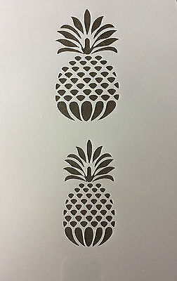 Pinnaple Mylar Reusable Stencil Airbrush Painting Art Craft DIY home