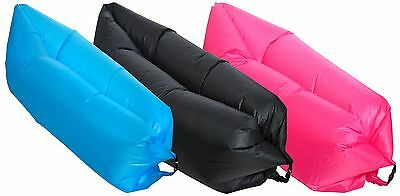 Inflatable Air Bed lazy lounger beach festivals camping garden uk stock