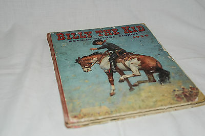 BILLY THE KID Book of Picture Stories 1959 Vintage Western Annual