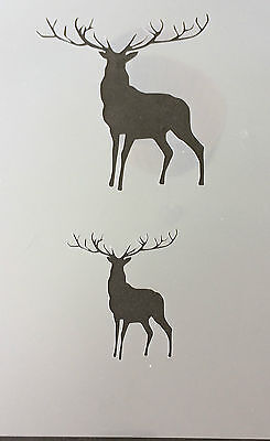 Stag Mylar Reusable Stencil Airbrush Painting Art Craft DIY home
