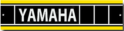Yamaha Metal Garage Sign.vintage Yamaha Motorcycles,yamaha Work Shop Sign.yellow