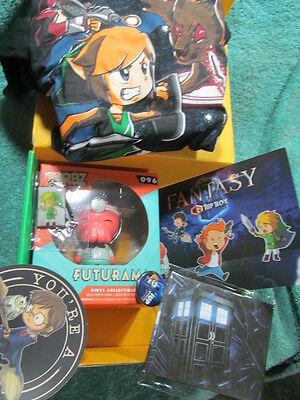Fantasy 1upBox Dorbz 096 Vinyl Futurama Keychain Sticker T-shirt S Complete Box