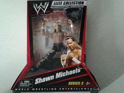 WWE Mattel Elite 3 HBK Shawn Michaels Neu und OVP