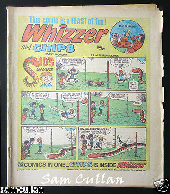 Whizzer and Chips 22nd February 1975