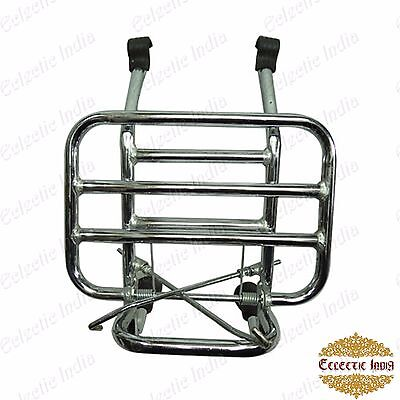Vespa PX LML Front Luggage Rack Carrier Chrome Star Stella Speedy My Lusso