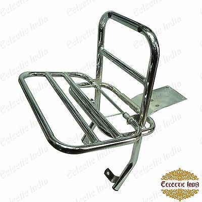 Vespa PX LML Rear Luggage Rack Carrier Chrome Star Stella Speedy My Lusso