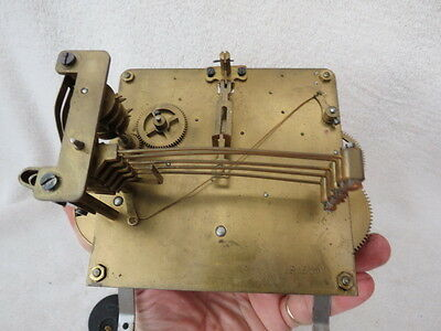 Vintage Westminster Clock Movement Hands And Pendulum Lot O