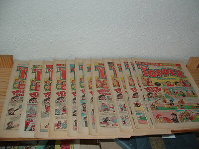 13 Topper Comics 1983 Consecutive Numbers Inc Christmas Issue