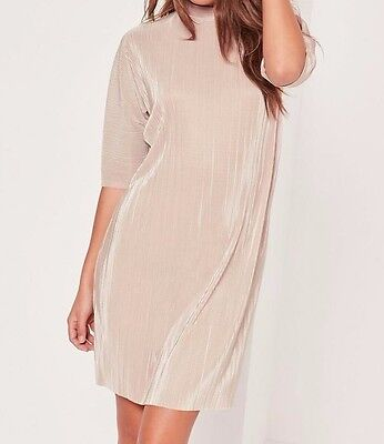Missguided Crinkle T Shirt Dress (M9/12)
