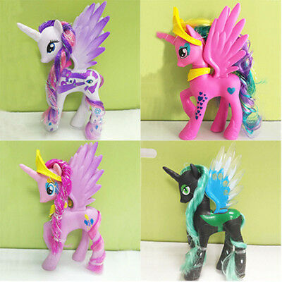 14cm New Lot of My Little Pony Luna funny Cake Toppers Doll Action Figure Toy